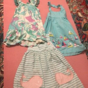 Other - 3 Beautiful dresses - 2t - never worn
